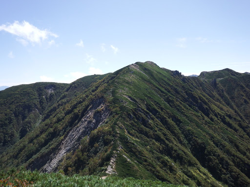 檜尾岳を振り返る