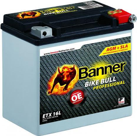 Banner Bike Bull AGM PRO ETX 16L 12V 19Ah