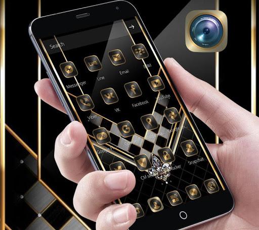 Gold Black Luxurious Theme 1.1.1 screenshots 3