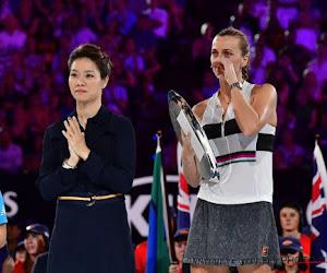 """? Kvitova emotioneel na eerste Grand Slam-finale na haar overval: """"Ik wist niet of ik ooit nog een racket zou kunnen vasthouden"""""""