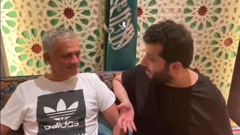 Mourinho ha sido el último entrenador que ha pasado por Riad.