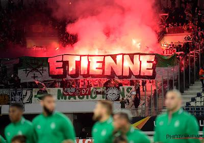 Énorme bagarre avant le match Olexandriya-Saint-Etienne (vidéo)