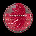 Bloody autumn GO Keyboard icon