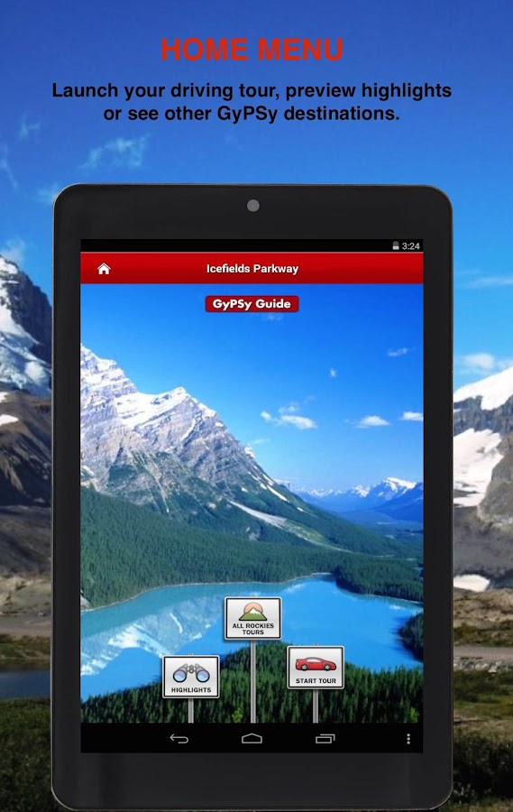 Icefields Parkway GyPSy Tour- screenshot