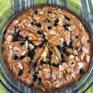 Yotam Ottolenghi'S Coconut Almond and Blueberry Cake Recipe