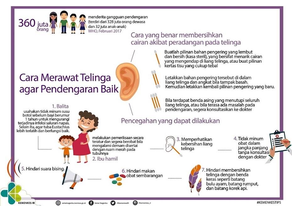 Cara Merawat Telinga Agar Pendengaran Baik