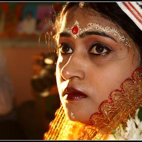 The Bengali Bride ..... by Kaustav Dutta - Wedding Bride