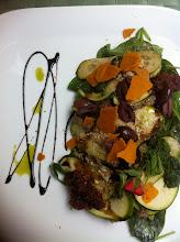 Photo: Live! Restaurant's raw ravioli