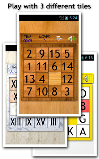 Fifteen Puzzle X - Best FREE Slide Puzzle Games - screenshot