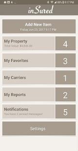 inSured — Inventory My Property - náhled