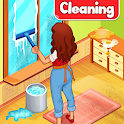 Big Home Cleanup and Wash : House Cleaning Game icon