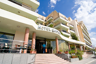 "Photo: Our hotel in Bugibba, ""Santana"""