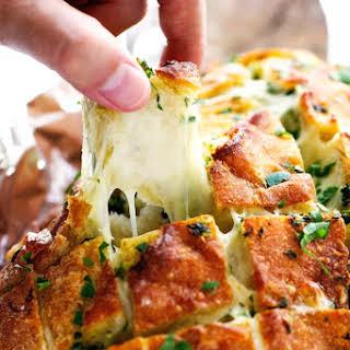 Cheesy Garlic Pull Apart Bread.