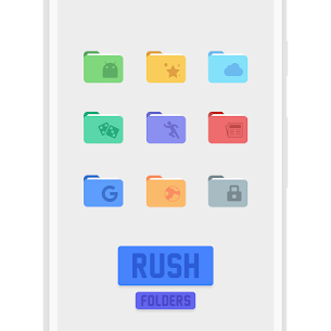 RUSH Icon Pack 1.1 [Premium Unlocked] Cracked Apk 6