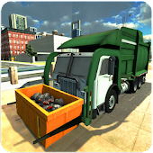 City Garbage Truck Driver SIM