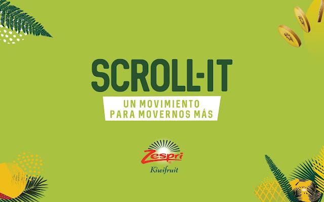 Scroll-it by Zespri Spain
