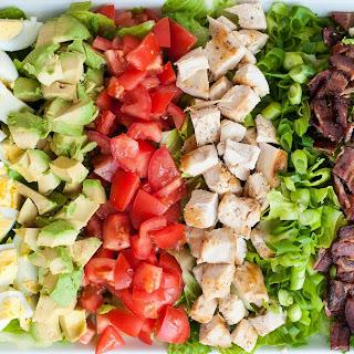 Classic Cobb Salad with Homemade Red Wine Vinaigrette