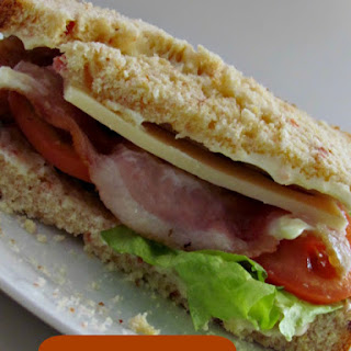BLT and Swiss on Bacon Cheddar Bread Recipe