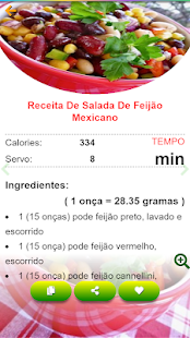 Download Saladas receitas:comida saudável ​​com Nutrição For PC Windows and Mac apk screenshot 7