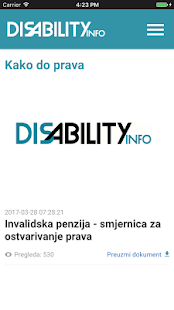 DisabilityInfo- screenshot thumbnail