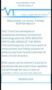 Vital Tones ADHD Adult- screenshot thumbnail