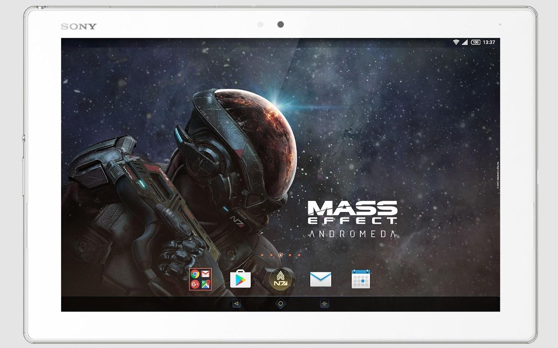 Google themes london - Xperia Mass Effect Theme Screenshot
