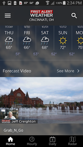 FOX19 First Alert Weather 5.0.501 screenshots 3