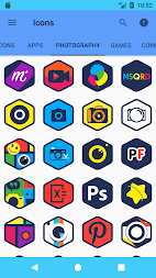 Sixmon - Icon Pack APK screenshot thumbnail 6
