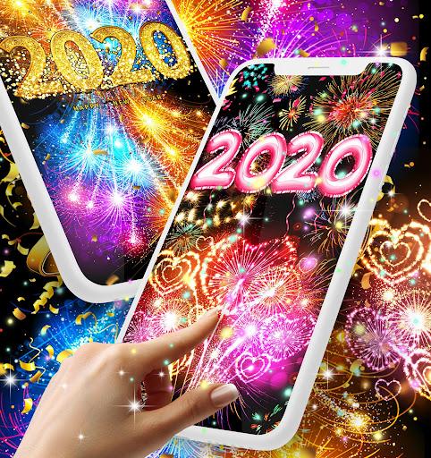Happy new year 2020 live wallpaper 13.8 screenshots 1