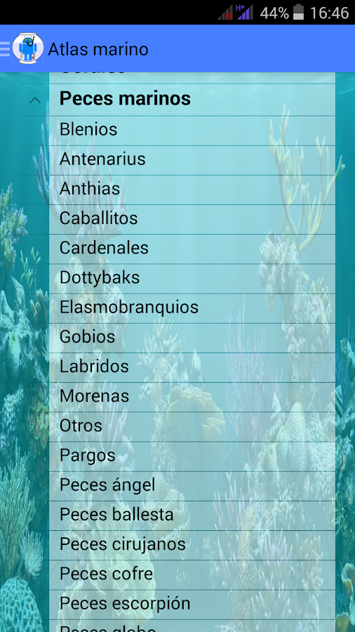 Nuestroacuario.com v 1.0(BETA)- screenshot