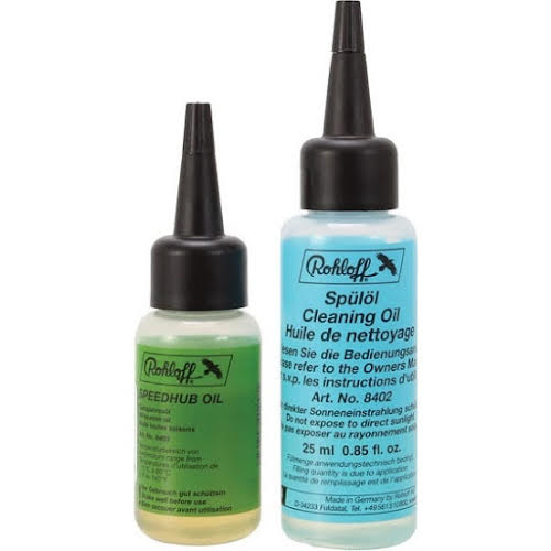 Rohloff Speedhub All Weather and Cleaning Oil, 25ml Each