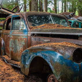 Dreaming of Better Days by Earl Heister - Transportation Automobiles (  )