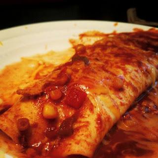 Crock Pot Chicken Enchiladas.