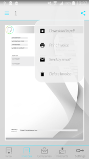Invoices with iFacturas PRO- screenshot thumbnail