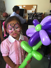 Photo: Face Painting and balloon art by Bella, San Bernardino, Ca. Call to book her at 888-750-7024