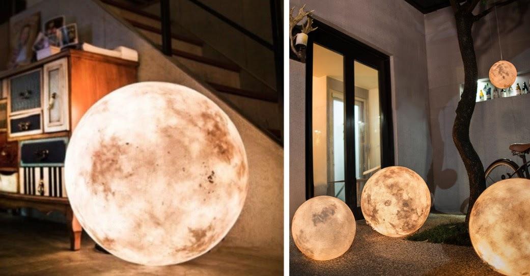 Luna lampa