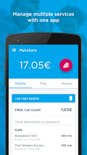 MyLebara Top-up- screenshot thumbnail