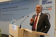Photo: Thüringens Wirtschaftsminister spricht über die ökonomischen Chancen der dritten industriellen Revolution