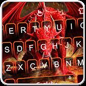 Tải 3D Red Dragon Keyboard Theme APK
