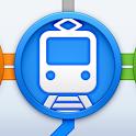 かんたん乗り換え案内(乗換案内・乗換) icon