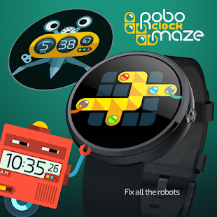 RoboClock Maze- screenshot thumbnail
