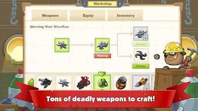 Wormix: Online Tactical Shooting Game for Mobile screenshot thumbnail