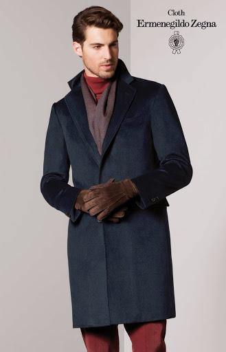 manteau sur-mesure en cachemire