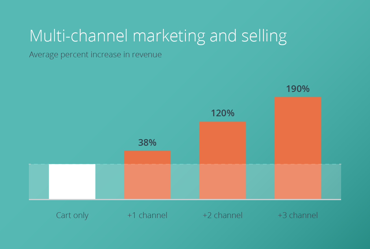 multi-channel brands can see a huge return on each new channel they enter.