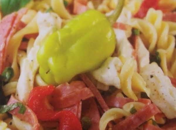 Antipasto With Pasta Recipe