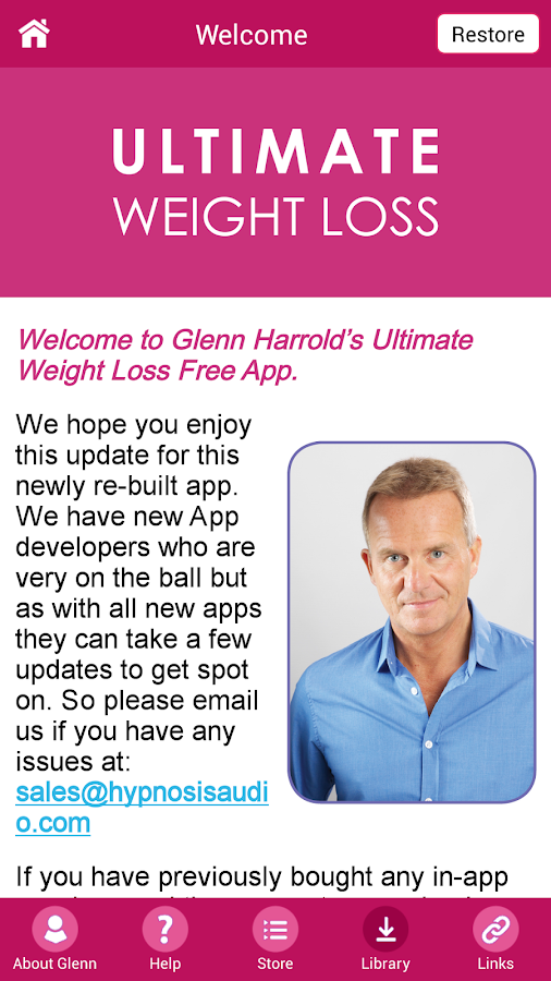Ultimate Weight Loss Hypnosis- screenshot