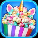 Unicorn Food - Rainbow Popcorn Party icon