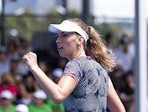 Elise Mertens heeft geen kind aan Heather Watson op Australian Open