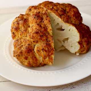 Herb Roasted Whole Cauliflower