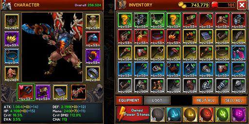 Death Dungeon : Demon Hunting RPG 1.8.51 screenshots 4